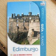 Libros de segunda mano: EDIMBURGO - LAS 25 MEJORES VISITAS. Lote 270187783