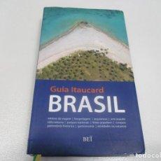 Libros de segunda mano: GUÍA ITAUCARD BRASIL (PORTUGUÉS) W7602. Lote 270571623