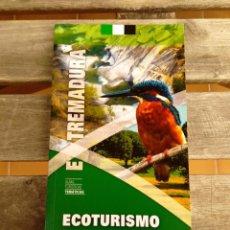 Libros de segunda mano: GUÍA DE ECOTURISMO EN EXTREMADURA. Lote 270953363