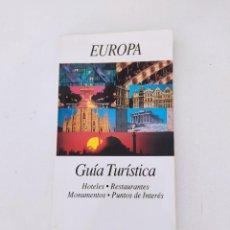 Libros de segunda mano: EUROPA GUIA TURISTICA INFORMATIVA - LIBRITO AÑO 1992 PLANOS CIUDADES - EURO MINI GRUPO IBERIA -. Lote 271631863