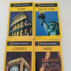 Libros de segunda mano: LOTE DE 4 GUÍAS AUDI . ROMA . LONDRES , NEW YORK, PARIS.. Lote 271636858