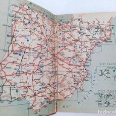 Libros de segunda mano: MAPA DE CARRETERAS ESPAÑA Y PORTUGAL. 1960. E. NEGURI - BILBAO. Lote 271640763