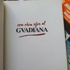 Libros de segunda mano: GEOGRAFIA. CON CIEN OJOS AL GUADIANA, CONFEDERACIÓN HIDROGRÁFICA DEL GUADIANA, 1996. Lote 271848193