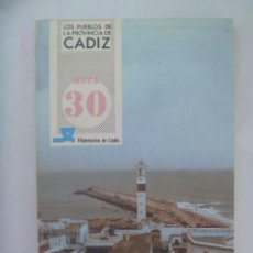 Libros de segunda mano: LOS PUEBLOS DE LA PROVINCIA DE CADIZ : ROTA . DIPUTACION DE CADIZ. 1985. Lote 271861903