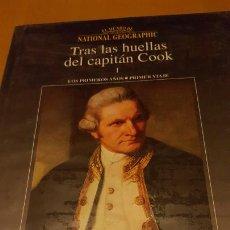 Libros de segunda mano: TRAS LAS HUELLAS DEL CAPITAN COOK I Y II. Lote 271905908