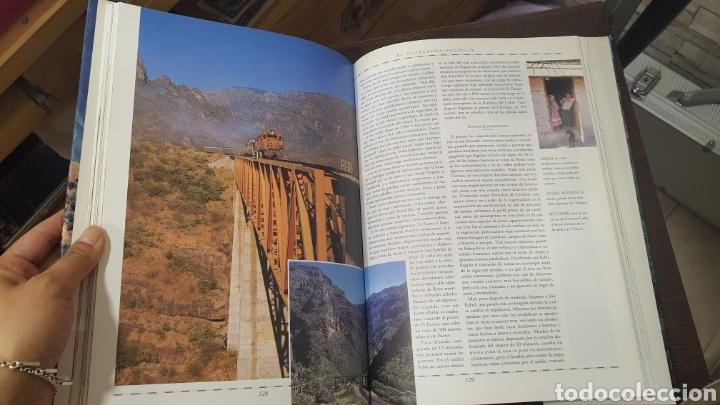 Libros de segunda mano: Libro Viajes en tren por el Mundo - Foto 3 - 271938338