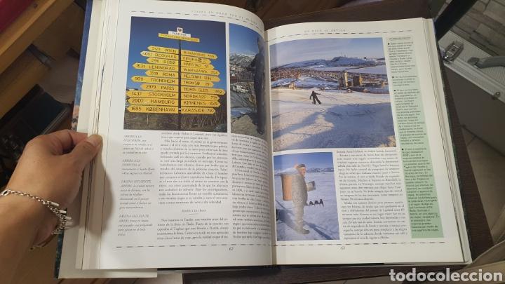 Libros de segunda mano: Libro Viajes en tren por el Mundo - Foto 5 - 271938338