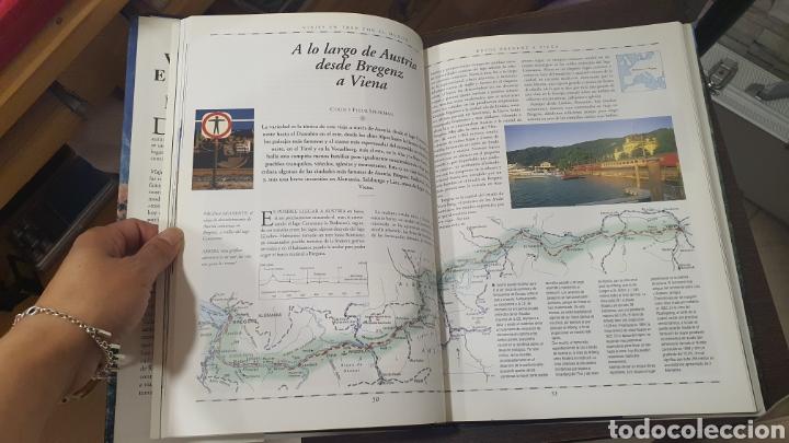 Libros de segunda mano: Libro Viajes en tren por el Mundo - Foto 6 - 271938338