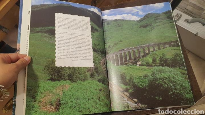 Libros de segunda mano: Libro Viajes en tren por el Mundo - Foto 7 - 271938338