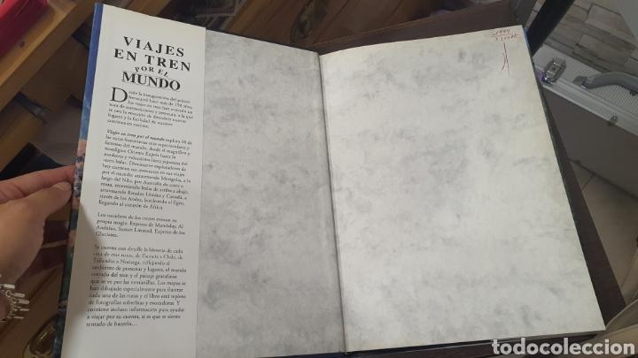Libros de segunda mano: Libro Viajes en tren por el Mundo - Foto 8 - 271938338