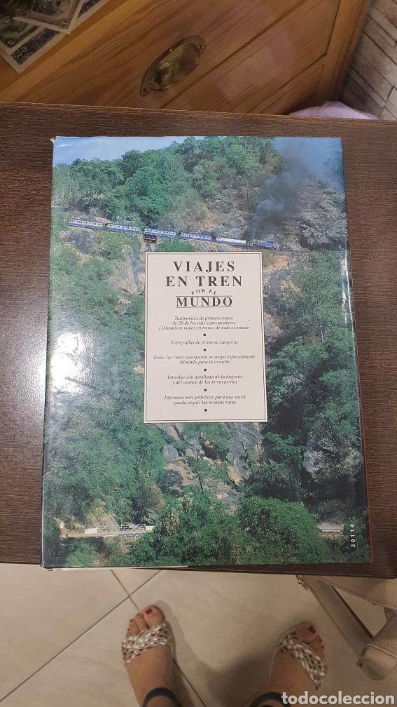 LIBRO VIAJES EN TREN POR EL MUNDO (Libros de Segunda Mano - Geografía y Viajes)