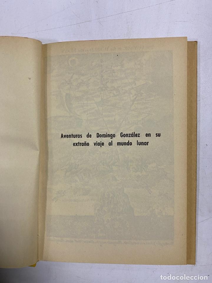 Libros de segunda mano: AVENTURAS DE DOMINGO GONZALEZ EN SU EXTRAÑO VIAJE AL MUNDO LUNAR 1673. FRANCIS GODWIN - Foto 4 - 272849823