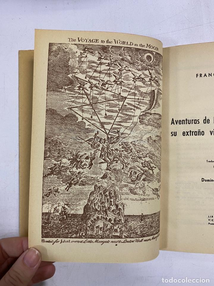 Libros de segunda mano: AVENTURAS DE DOMINGO GONZALEZ EN SU EXTRAÑO VIAJE AL MUNDO LUNAR 1673. FRANCIS GODWIN - Foto 5 - 272849823