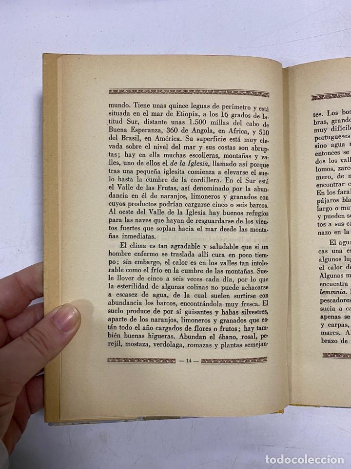 Libros de segunda mano: AVENTURAS DE DOMINGO GONZALEZ EN SU EXTRAÑO VIAJE AL MUNDO LUNAR 1673. FRANCIS GODWIN - Foto 7 - 272849823