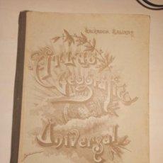 Libros de segunda mano: ATLAS GEOGRAFICO UNIVERSAL SALVADOR SALINAS. Lote 273380243