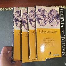 Libros de segunda mano: LOTE DE 4 LIBRITOS MANUAL DEL VIAJERO. Lote 273967543