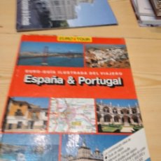 Libros de segunda mano: G-82 LIBRO EURO TOUR, EURO-GUÍA ILUSTRADA DEL VIAJERO, ESPAÑA & PORTUGAL, PLAZA Y JANÉS,. Lote 274811533