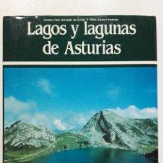 Libros de segunda mano: LAGOS Y LAGUNAS DE ASTURIAS - CARMEN FERNANDEZ, EFREN GARCIA FERNANDEZ - ED. AYALGA - 1987. Lote 275088738