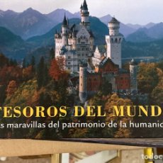 Libros de segunda mano: LIBRO TESOROS DEL MUNDO. Lote 275694318