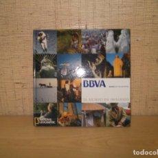 """Libros de segunda mano: LIBRO """"EL MUNDO EN IMAGENES"""" NATIONAL GEOGRAFIC BBVA. Lote 276021763"""