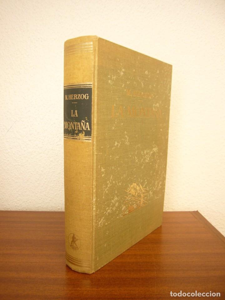 Libros de segunda mano: MAURICE HERZOG: LA MONTAÑA (LABOR, 1967) OBRA DE REFERENCIA MUY BUSCADA - Foto 2 - 276071273