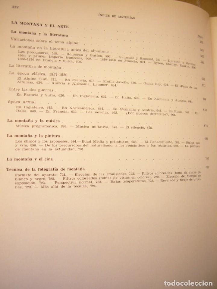 Libros de segunda mano: MAURICE HERZOG: LA MONTAÑA (LABOR, 1967) OBRA DE REFERENCIA MUY BUSCADA - Foto 10 - 276071273