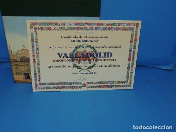 Libros de segunda mano: VALLADOLID. TODOS LOS PUEBLOS DE LA PROVINCIA.-Dirección y coordinación: José Cubero Garrote - Foto 4 - 276200578