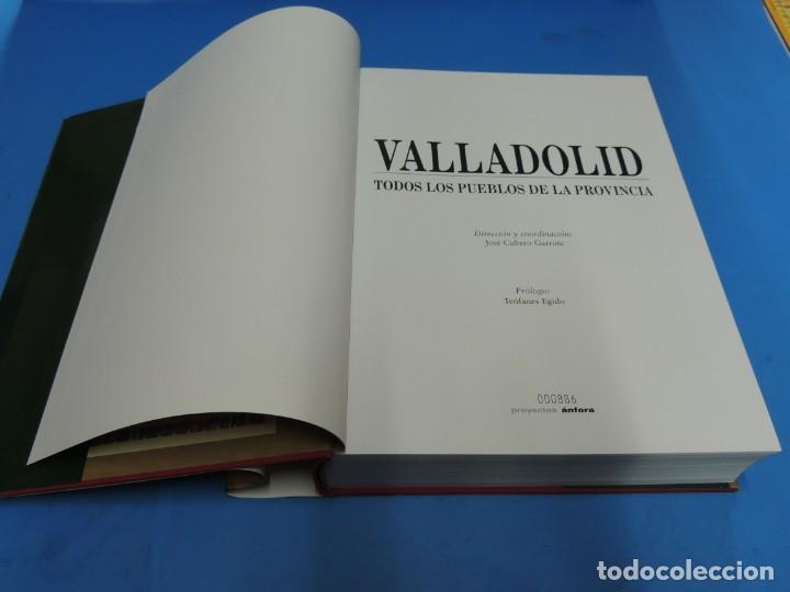 Libros de segunda mano: VALLADOLID. TODOS LOS PUEBLOS DE LA PROVINCIA.-Dirección y coordinación: José Cubero Garrote - Foto 5 - 276200578