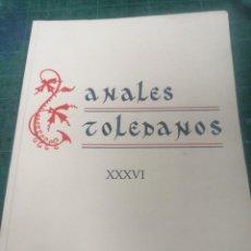 Libros de segunda mano: ANUALES TOLEDANOS. XXXVI. Lote 276294563