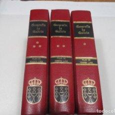 Libros de segunda mano: GEOGRAFÍA DE GALICIA (3 TOMOS ) W8101. Lote 276441068