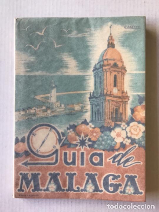 GUÍA DE MÁLAGA. - BUENO MUÑOZ, ANTONIO. (Libros de Segunda Mano - Geografía y Viajes)
