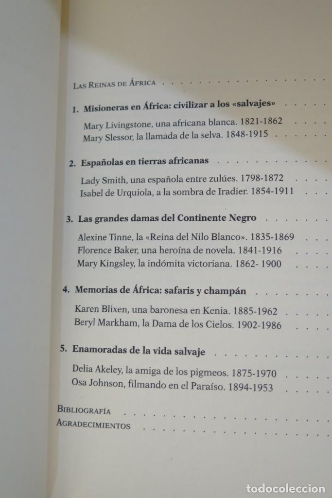 Libros de segunda mano: LAS REINAS DE ÁFRICA. VIAJERAS Y EXPLORADORAS POR EL CONTINENTE DE NEGRO. CRISTINA MORATÓ - Foto 2 - 276961833