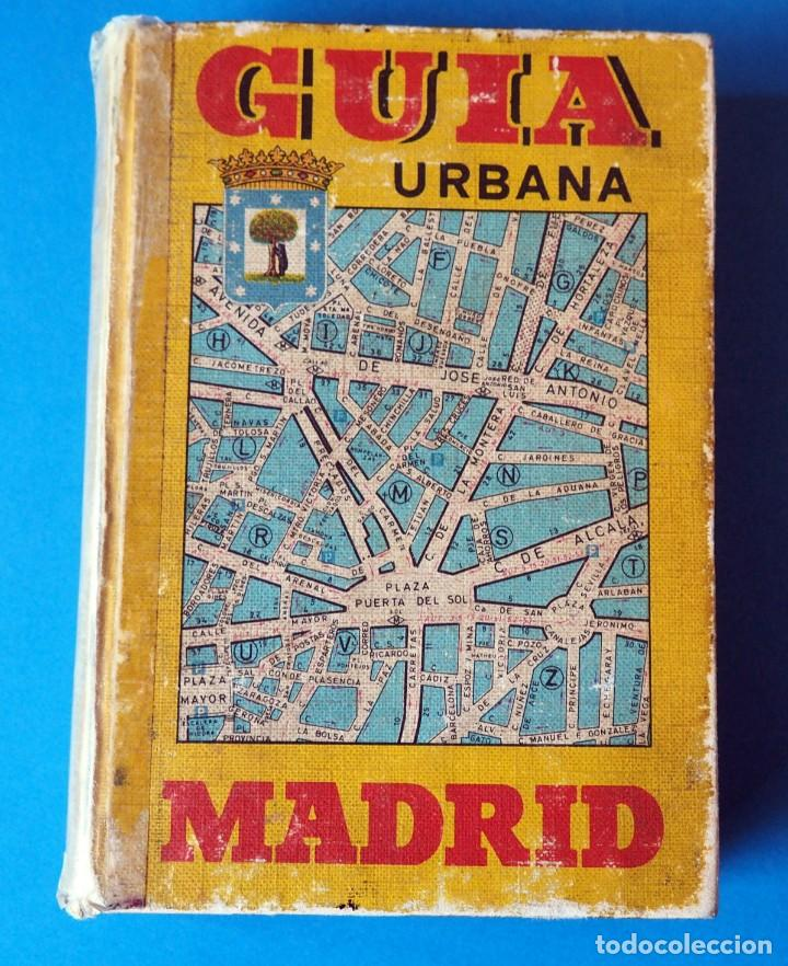 GUIA URBANA DE MADRID. AÑO 1973. TOMO I (Libros de Segunda Mano - Geografía y Viajes)
