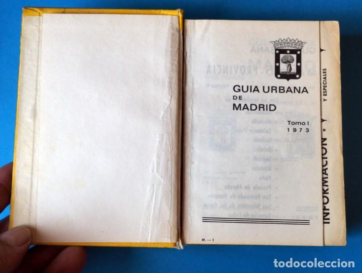 Libros de segunda mano: GUIA URBANA DE MADRID. AÑO 1973. TOMO I - Foto 2 - 276961993