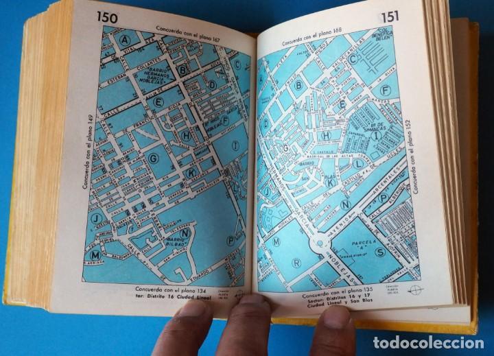 Libros de segunda mano: GUIA URBANA DE MADRID. AÑO 1973. TOMO I - Foto 3 - 276961993