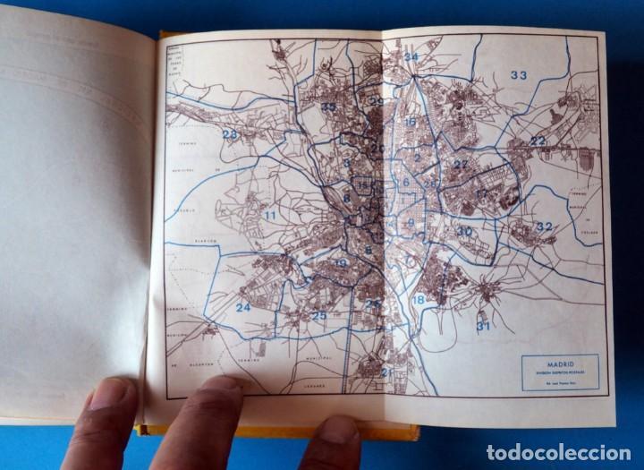 Libros de segunda mano: GUIA URBANA DE MADRID. AÑO 1973. TOMO I - Foto 4 - 276961993