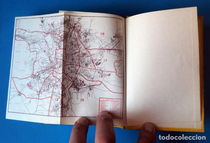 Libros de segunda mano: GUIA URBANA DE MADRID. AÑO 1973. TOMO I - Foto 5 - 276961993
