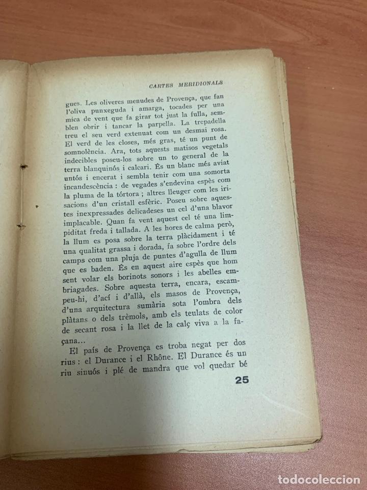 Libros de segunda mano: CARTES MERDIONALS. JOSEP PLA. LIBRERÍA CATALONIA. BARCELONA 1929. - Foto 17 - 277423398