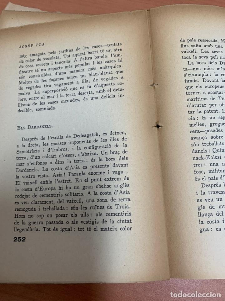 Libros de segunda mano: CARTES MERDIONALS. JOSEP PLA. LIBRERÍA CATALONIA. BARCELONA 1929. - Foto 18 - 277423398