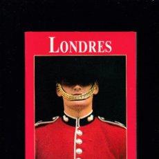 Libros de segunda mano: LONDRES - LOS LIBROS DEL VIAJERO - EL PAIS & AGUILAR 1990. Lote 277517283