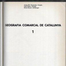 Libros de segunda mano: GEOGRAFIA COMARCAL DE CATALUNYA. 2 VOLS COL-LECIONABLE DIARI AVUI. Lote 277519258