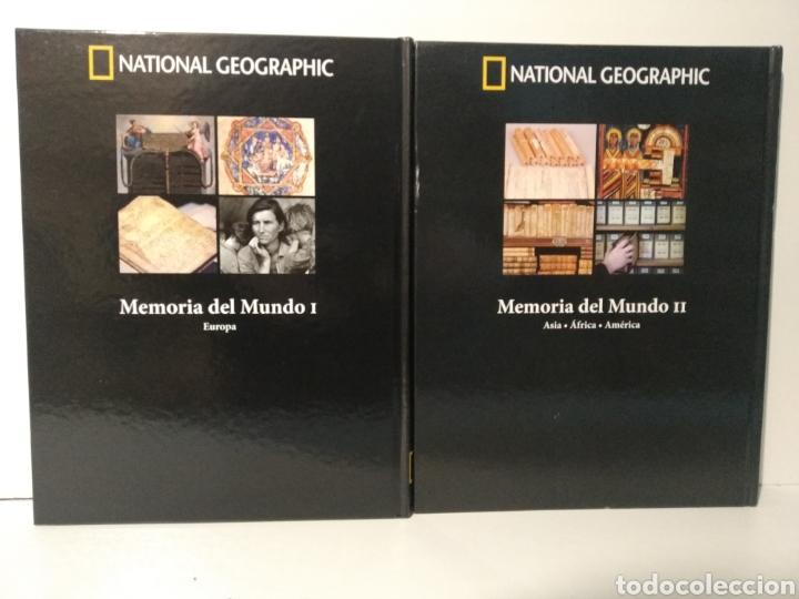 Libros de segunda mano: Memoria del mundo I y II. patrimonio de la humanidad. National geographic - Foto 2 - 277741078