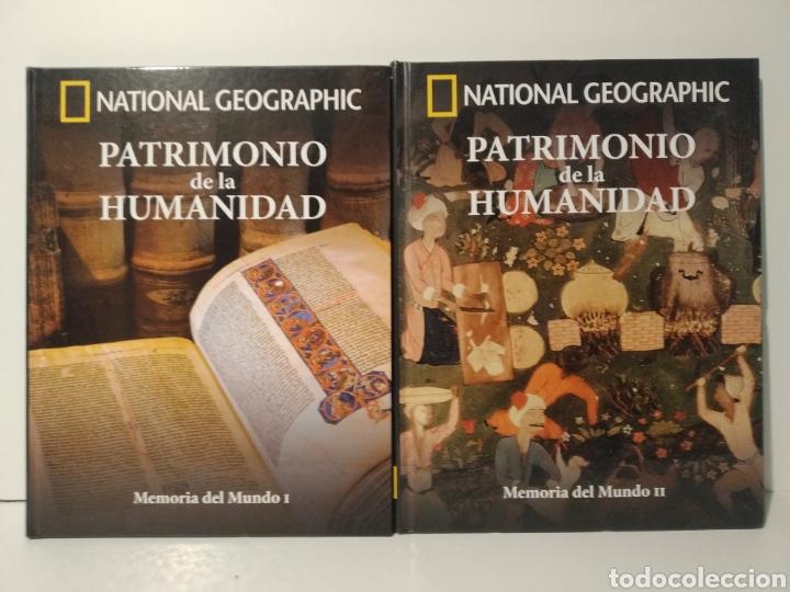 MEMORIA DEL MUNDO I Y II. PATRIMONIO DE LA HUMANIDAD. NATIONAL GEOGRAPHIC (Libros de Segunda Mano - Geografía y Viajes)