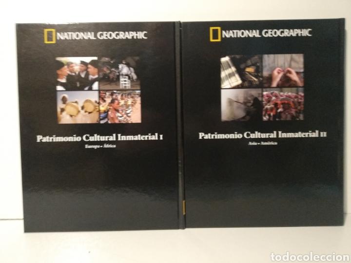 Libros de segunda mano: Patrimonio cultural inmaterial. I y II. National geographic. Patrimonio de la humanidad - Foto 2 - 277741623