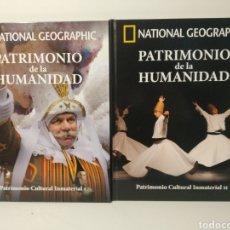 Libros de segunda mano: PATRIMONIO CULTURAL INMATERIAL. I Y II. NATIONAL GEOGRAPHIC. PATRIMONIO DE LA HUMANIDAD. Lote 277741623