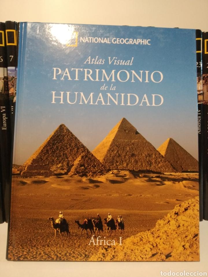 PATRIMONIO DE LA HUMANIDAD. ÁFRICA I. NATIONAL GEOGRAPHIC. (Libros de Segunda Mano - Geografía y Viajes)