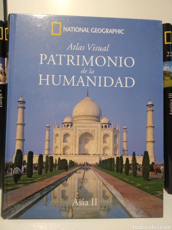 PATRIMONIO DE LA HUMANIDAD. ASIA II. ATLAS VISUAL. NATIONAL GEOGRAPHIC (Libros de Segunda Mano - Geografía y Viajes)
