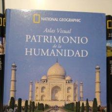 Libros de segunda mano: PATRIMONIO DE LA HUMANIDAD. ASIA II. ATLAS VISUAL. NATIONAL GEOGRAPHIC. Lote 277742208