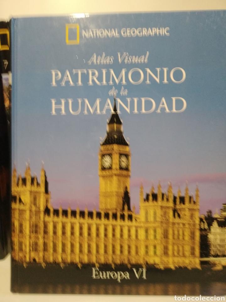 PATRIMONIO DE LA HUMANIDAD. EUROPA VI. ATLAS VISUAL. NATIONAL GEOGRAPHIC (Libros de Segunda Mano - Geografía y Viajes)