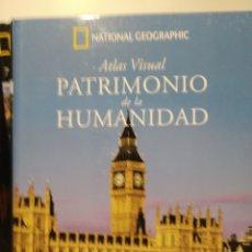 Libros de segunda mano: PATRIMONIO DE LA HUMANIDAD. EUROPA VI. ATLAS VISUAL. NATIONAL GEOGRAPHIC. Lote 277742543